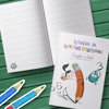 """Слика на Тетратка за почетно пишување - """"Пишувај со Биби!"""""""