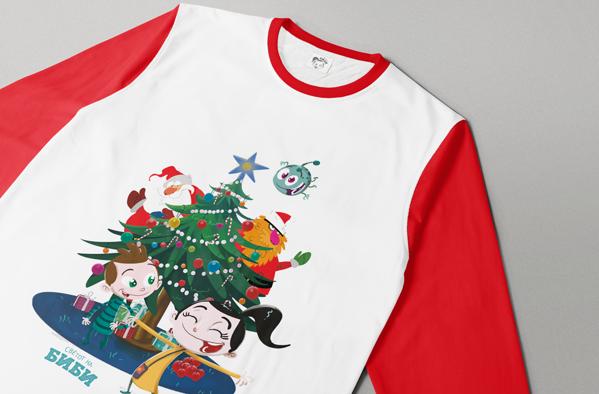 Слика на Детски пижами (Новогодишни)