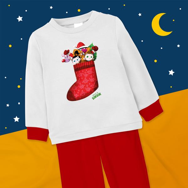 Слика на Пижами (новогодишни)